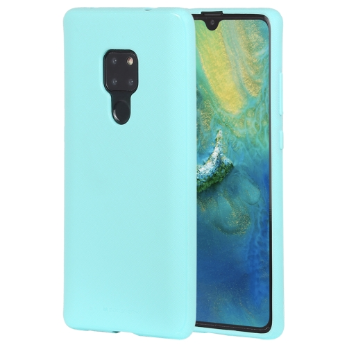 MERCURY GOOSPERY STYLE LUX Series Shockproof Soft TPU Case for Huawei Mate 20(Mint Green)