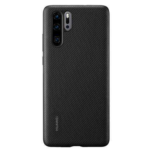 Original Huawei Shockproof PU Protective Case for Huawei P30 Pro (Black)