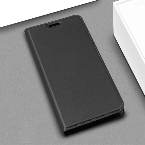 DZGOGO ISKIN Series Slight Frosted PU+ TPU Case for Huawei Y6 (2019) / Honor 8A (Grey)