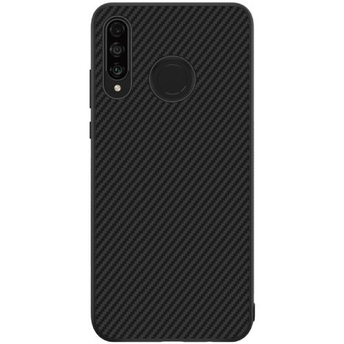 NILLKIN Anti-slip Texture PC Case for Huawei P30 Lite & Nova 4e (Black)