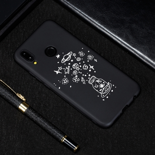 Wishing Bottle Painted Pattern Soft TPU Case for Huawei P20 Lite