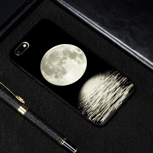 Moon Painted Pattern Soft TPU Case for Huawei Y5 Prime (2018)
