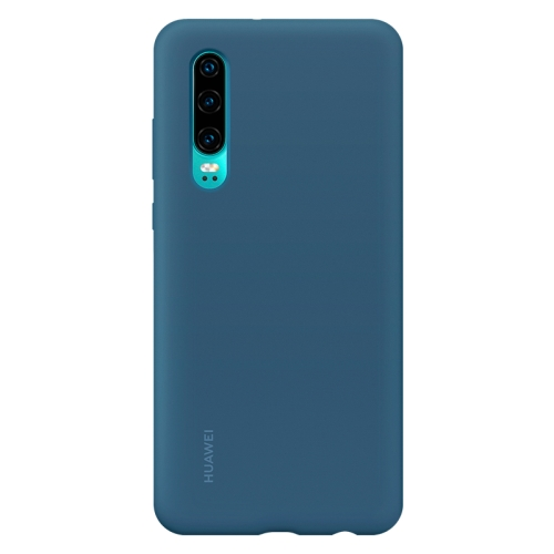 Original Huawei Shockproof Silica Gel Protective Case for Huawei P30 (Blue)