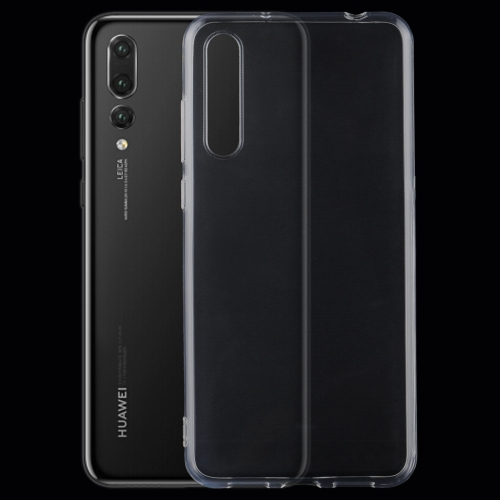 For Huawei P20 Pro 0.75mm Ultra-thin Transparent TPU Protective Back Cover Case(Transparent) free shipping factory price aluminum profile for led strip milky transparent cover for 12mm pcb with fittings 1m pcs
