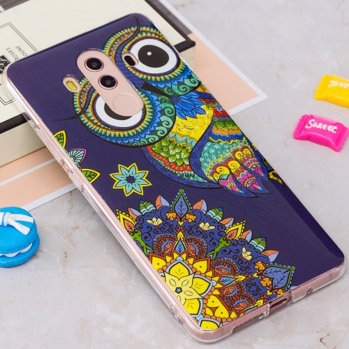 Buy Huawei Mate 10 Pro Noctilucent Ethnic Owl Pattern TPU Soft Back Case Protective Cover for $1.40 in SUNSKY store
