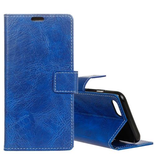 Buy Huawei nova 2s Retro Crazy Horse Texture Horizontal Flip Leather Case with Holder & Card Slots & Wallet & Photo Frame, Blue for $3.21 in SUNSKY store