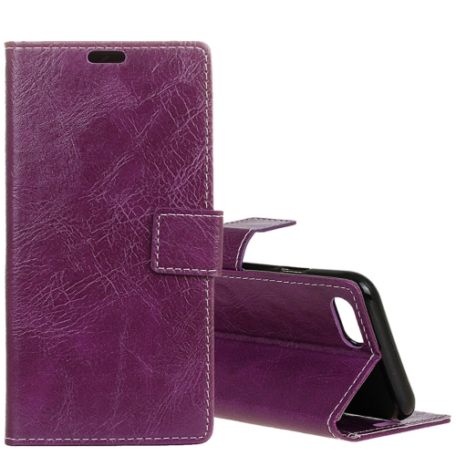 Buy Huawei nova 2s Retro Crazy Horse Texture Horizontal Flip Leather Case with Holder & Card Slots & Wallet & Photo Frame, Purple for $3.21 in SUNSKY store