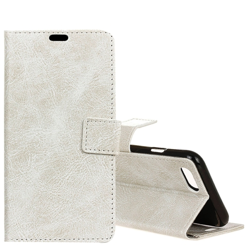 Buy Huawei nova 2s Retro Crazy Horse Texture Horizontal Flip Leather Case with Holder & Card Slots & Wallet & Photo Frame, White for $3.21 in SUNSKY store