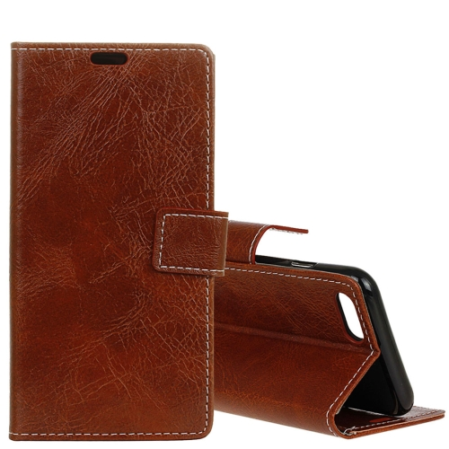Buy Huawei nova 2s Retro Crazy Horse Texture Horizontal Flip Leather Case with Holder & Card Slots & Wallet & Photo Frame, Brown for $3.21 in SUNSKY store