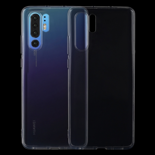 0.75mm Ultrathin Transparent TPU Soft Protective Case for Huawei P30 Pro