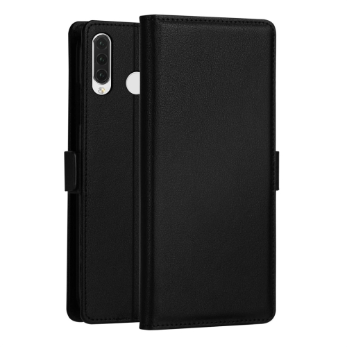 DZGOGO MILO Series PC + PU Horizontal Flip Leather Case for Huawei Honor 10i / Honor 20i / Enjoy 9s / P Smart Plus 2019, with Holder & Card Slot & Wallet (Black)