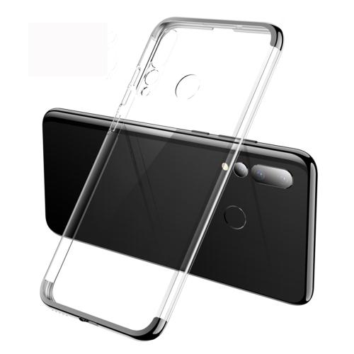 GKK Electroplating Transparent Case for Huawei Nova 4 (Black)