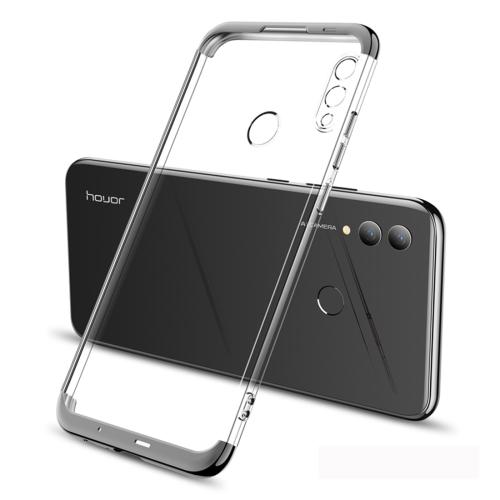 GKK Electroplating Transparent Case for Huawei Honor 10 Lite (Black)