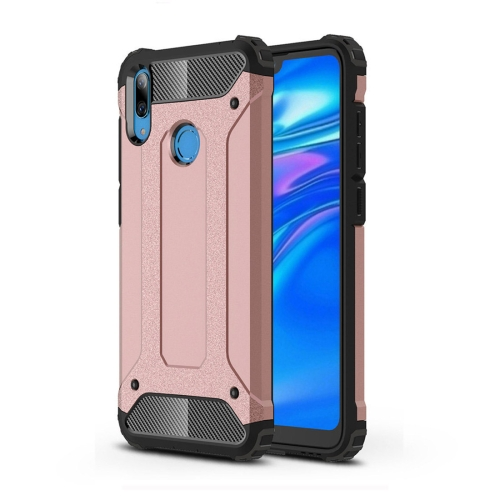 Magic Armor TPU + PC Combination Case for Huawei Y7 (2019) (Rose Gold)