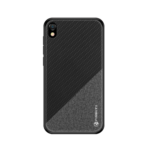 PINWUYO Honors Series Shockproof PC + TPU Protective Case for Huawei Y5 (2019) / Honor 8S (Black)