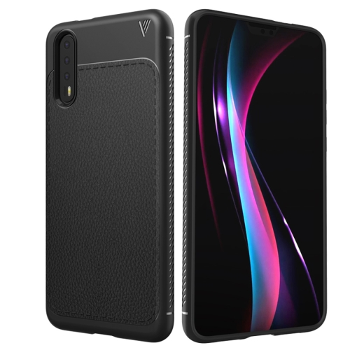 Buy Lenuo Leshen Series Huawei P20 TPU Litchi Texture Dropproof Protective Back Cover Case, Black for $2.67 in SUNSKY store