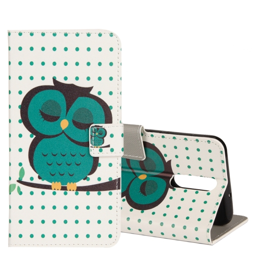 Buy Huawei Mate 10 Lite Dot and Owl Pattern Horizontal Flip Leather Case with Holder & Card Slots & Wallet for $2.43 in SUNSKY store