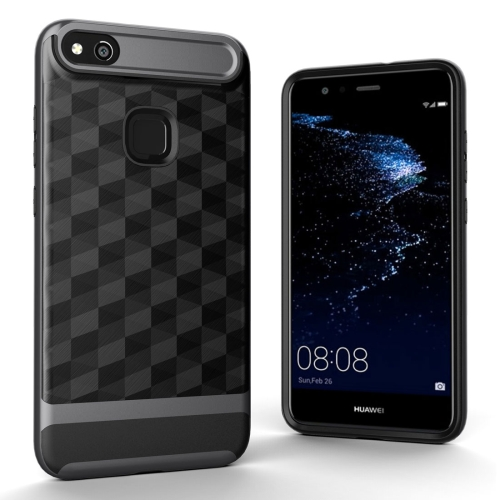 Buy Huawei P10 Lite 3D Diamond TPU+PC Protective Combination Case, Grey for $2.00 in SUNSKY store