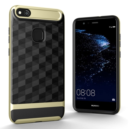 Buy Huawei P10 Lite 3D Diamond TPU+PC Protective Combination Case, Gold for $2.00 in SUNSKY store