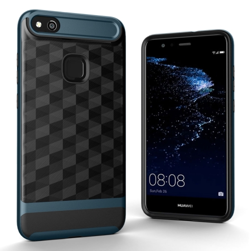 Buy Huawei P10 Lite 3D Diamond TPU+PC Protective Combination Case (Navy Blue) for $2.00 in SUNSKY store