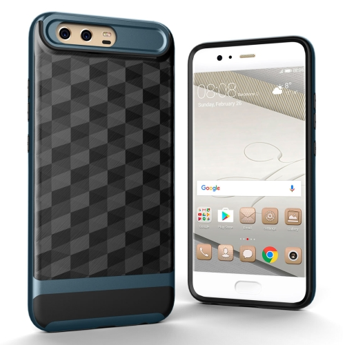 Buy Huawei P10 Plus 3D Diamond TPU+PC Protective Combination Case (Navy Blue) for $2.00 in SUNSKY store