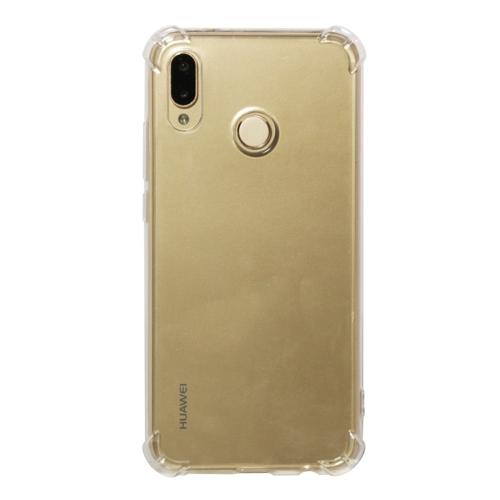 Shockproof TPU Protective Case for Huawei P20 Lite / Nova 3e (Transparent)