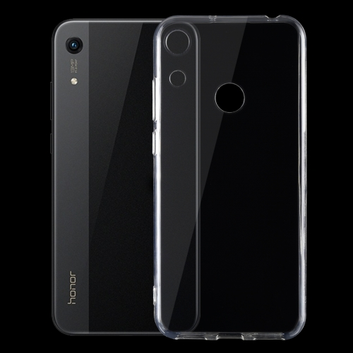 0.75mm Ultrathin Transparent TPU Soft Protective Case for Huawei Honor 8A