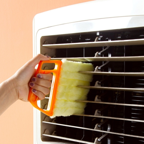 Buy Microfiber Blinds Cleaning Brush Slat Dust Cleaner Clip Window Air Conditioner Duster for $2.33 in SUNSKY store