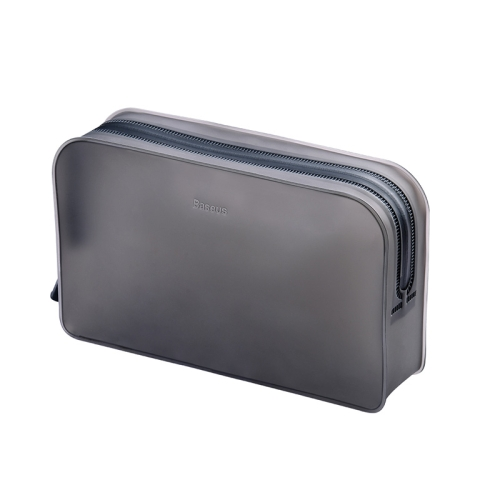 Baseus LBZL-A01 Self-supporting TPU Receipt Package Storage Bag, Size: 19.8x4.5x12cm (Black)