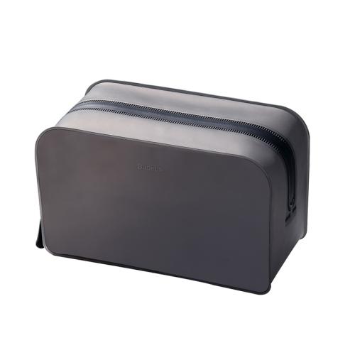 Baseus LBZL-B01 Self-supporting TPU Receipt Package Storage Bag, Size: 19.8x9x12cm (Black)