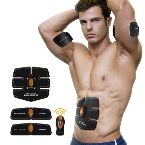Imate IM-03 Body Toning Wireless Smart Muscle Fitness Training Instrument Lazy Rechargeable Household Abdomen Abdominal Machine with Waistband