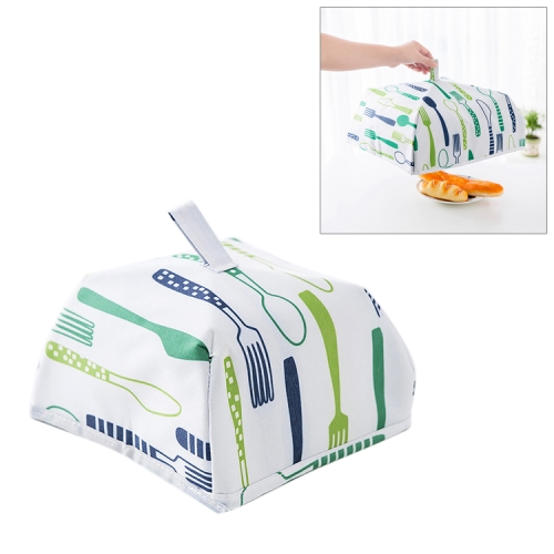 Buy Foldable Thickened Aluminum Foil Food Heat Preservation Cover, Size: S (22x22x11.5cm), Green for $1.09 in SUNSKY store