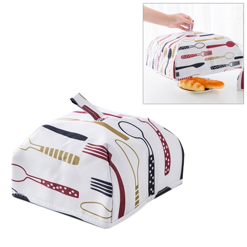 Buy Foldable Thickened Aluminum Foil Food Heat Preservation Cover, Size: S (22x22x11.5cm), Red for $1.09 in SUNSKY store