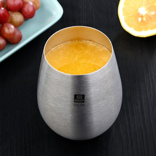 Buy Stainless Steel Beer Fruit Juice Cup Household Water Cup, Size: 11.5x6.6cm for $4.92 in SUNSKY store