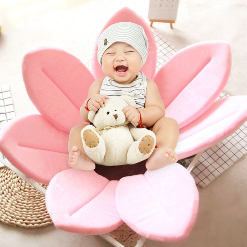 Buy Foldable Bathtub Blooming Sink Lotus Flower Bath Mat Pad for Newborn Baby, Size: 80cm x 80cm x 5cm, Pink for $9.72 in SUNSKY store
