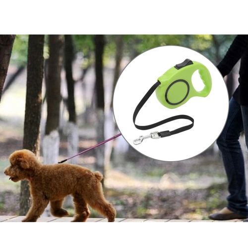 Buy Pet Retractable Leash Automatic Extending Pet Walking Leads, Length: 3m, Green for $3.84 in SUNSKY store