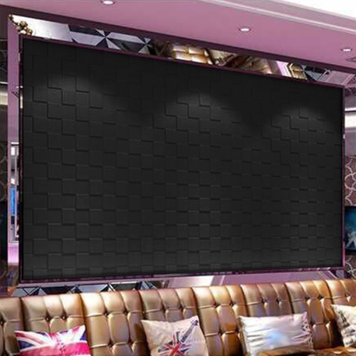 DIY 3D Brick Pattern Embossed Wall Stickers Self-adhesive Foam Wallpaper, Size: 60cm x 60cm, Black