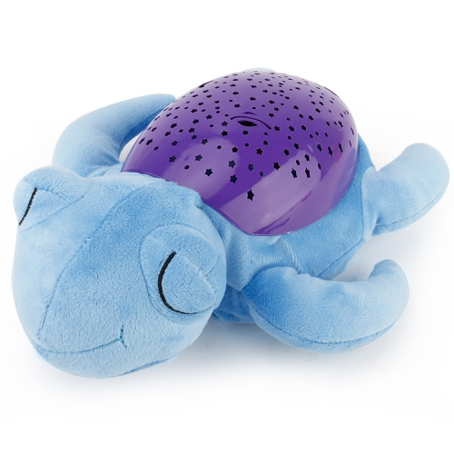Buy Brettbble 333 Cute Sea Turtle Design Babysbreath Sleep Projector Children Turtle Lamp Toys LED Colorful Night Light for $11.56 in SUNSKY store