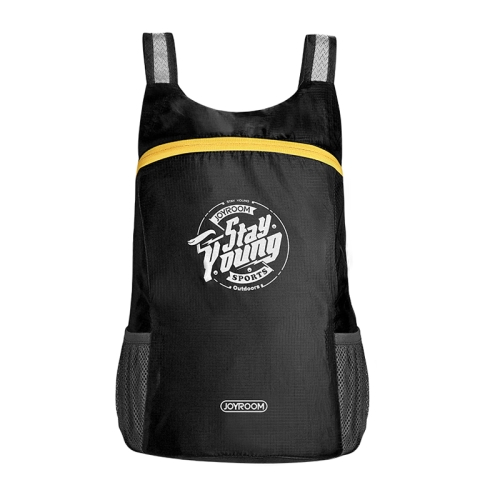 Buy JOYROOM CY125 Lightweight Foldable Waterproof Women Men Skin Pack Backpack Travel Outdoor Sports Camping Hiking Bag, Capacity: 13L, Black for $3.85 in SUNSKY store