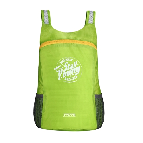 Buy JOYROOM CY125 Lightweight Foldable Waterproof Women Men Skin Pack Backpack Travel Outdoor Sports Camping Hiking Bag, Capacity: 13L, Green for $3.84 in SUNSKY store