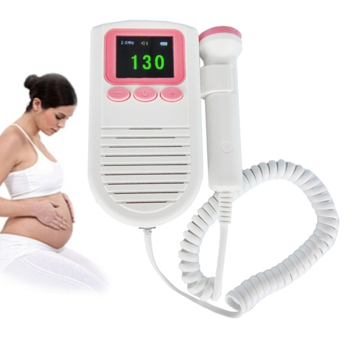 Buy FD-03 Ultrasonic Portable Detector Fetal Doppler Color Display Baby Heart Rate Monitor for Pregnant Women for $23.13 in SUNSKY store