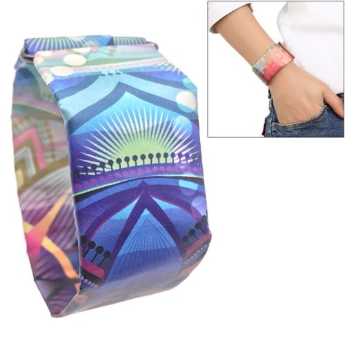 Fantasy Fairy Tale Pattern Creative Fashion Waterproof Paper Watch Intelligent Paper Electronic Wristwatch