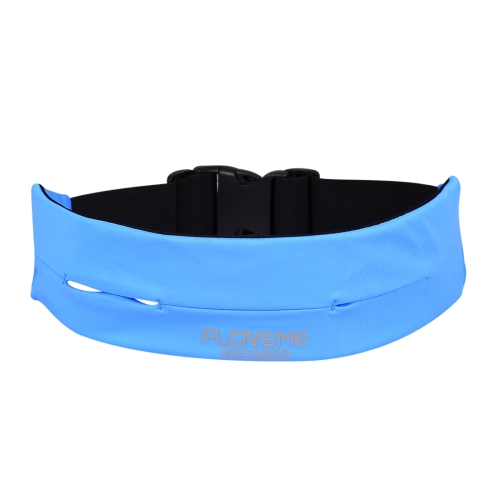 Buy FLOVEME Outdoor Sports Running GYM Stretch Case Phone Waist Bag Size L 75-85cm, Blue for $4.67 in SUNSKY store
