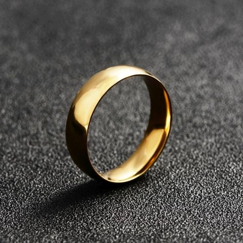 Buy Couple Men Jewelry Glossy Titanium Steel Ring, Size: 10, Inner Diameter: 20mm, Perimeter: 62.8mm (ARJZ-002) for $1.00 in SUNSKY store