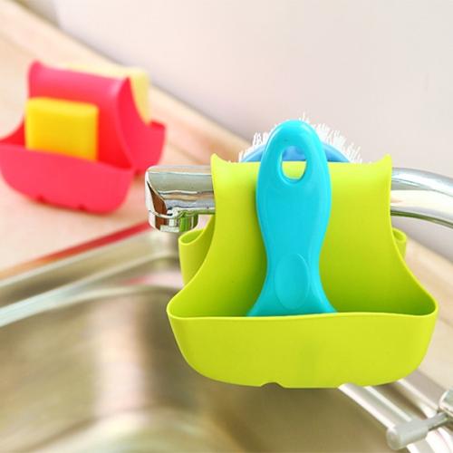 Buy 2 PCS Kitchen Sink Dual Storage Bag, Random Color Delivery for $1.14 in SUNSKY store