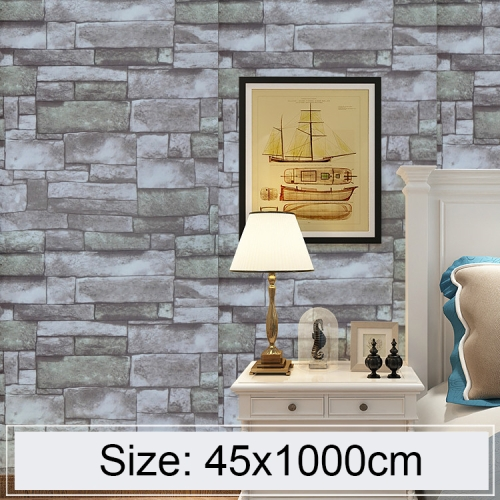 c930df943d6bf SUNSKY - Qingshi Creativo 3D Ladrillo de piedra Decoración Papel ...
