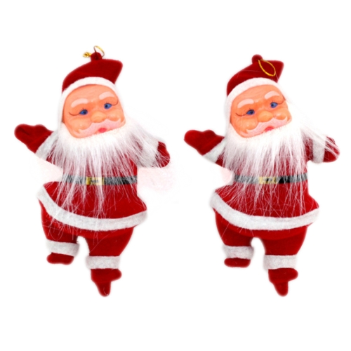 Buy 2 PCS Christmas Decoration Beard Santa Claus with Lanyard for $1.35 in SUNSKY store