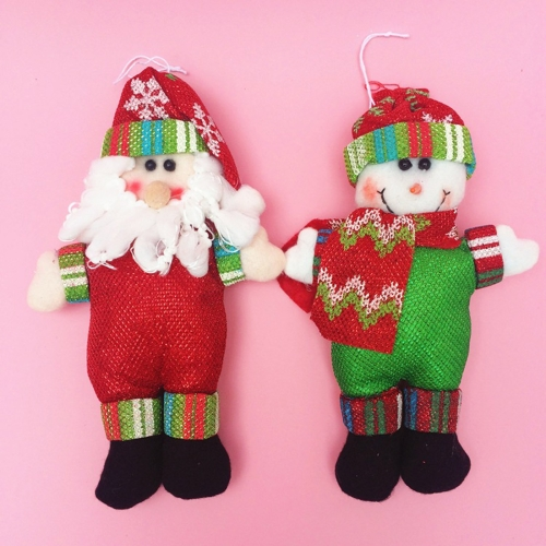 Buy 2 PCS Christmas Decoration Santa Claus / Snowman with Lanyard for $2.48 in SUNSKY store