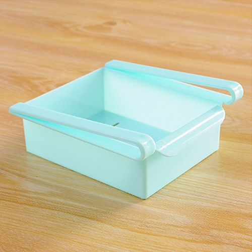 Buy Drawer Style Fridge Preservation Layer Storage Rack (Baby Blue) for $1.24 in SUNSKY store