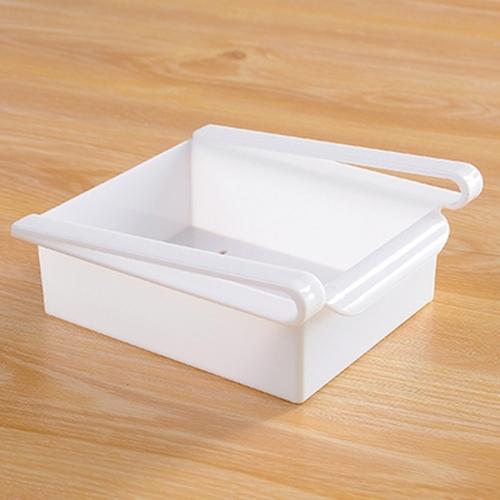 Buy Drawer Style Fridge Preservation Layer Storage Rack, White for $1.24 in SUNSKY store